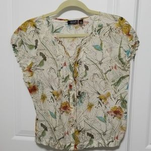 A.N.A. petite floral top